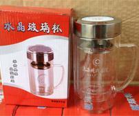 内蒙古乌海现代医院订制诗如意广告杯专利杯盖