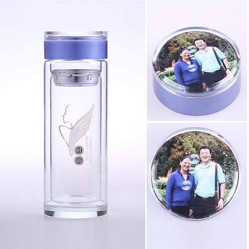 照片水晶杯
